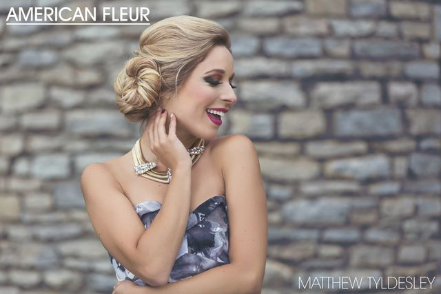 See the latest collection by Matthew Tyldesley with the beautiful #MissAmerica Kira Kazantsev  #beauty #hair #photoshoot