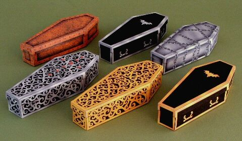 More coffins to print out. This site is amazing !