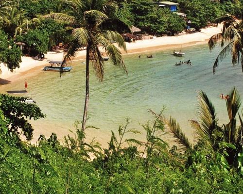 Unawatuna, definitely the most picturesque area of Sri Lanka's south coast we came across