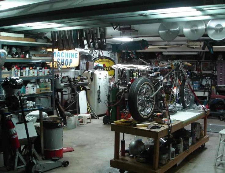 Mechanic Man Cave Ideas : Best the old shop images on pinterest garages