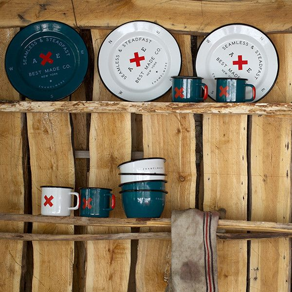 Our Seamless & Steadfast Enamelware in Patagonia