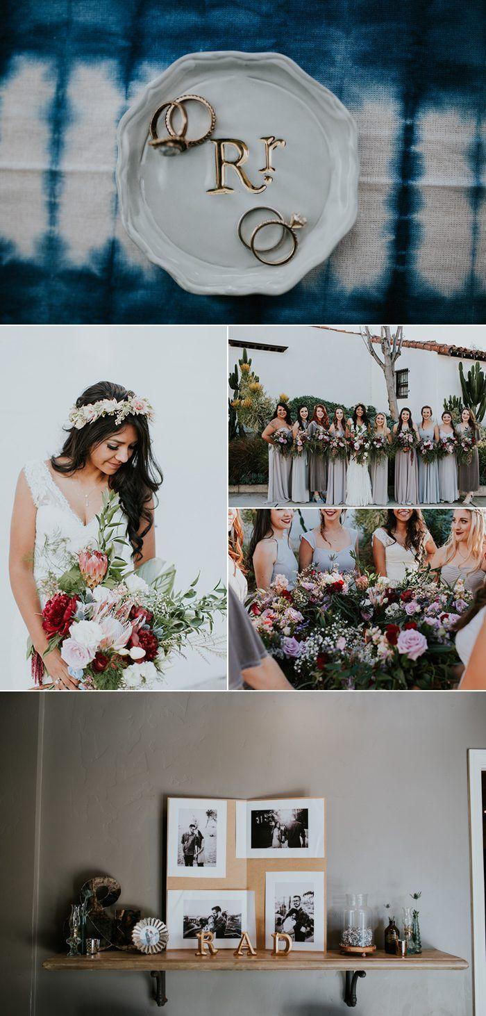 couples who nailed their diy weddings bohemian wedding