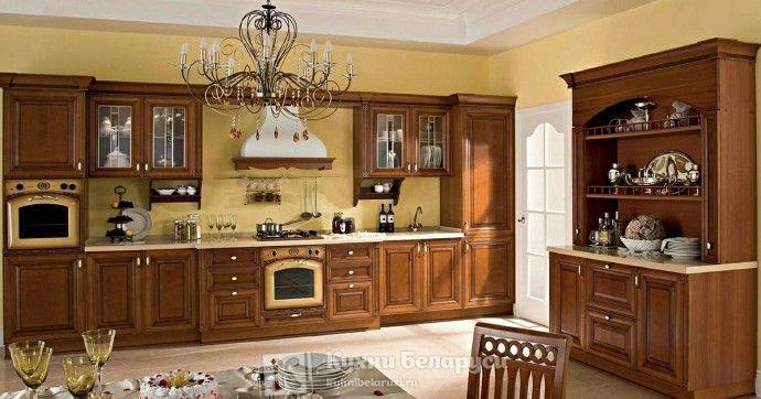 Кухонный буфет удобно и красиво. | Colors.life