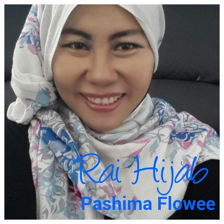 Tutorial Hijab Rai Fashmina Flowee