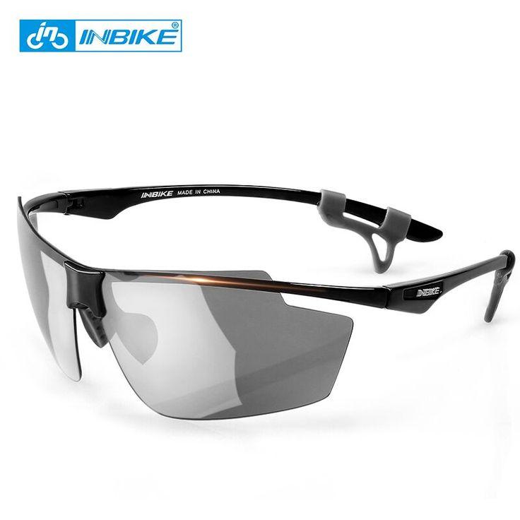 INBIKE Ultra-light Cycling Glasses Polarized Outdoor Bicycle Sports Eyewear Goggles Windproof Men Women Mountain Bike Equipment #Affiliate