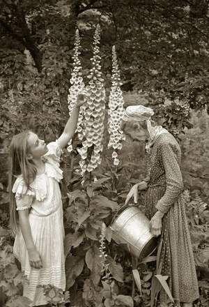 I want to see this exhibit at Frog Hollow in Burlington. Richard Brown's photos of Tasha Tudor's home in #VT