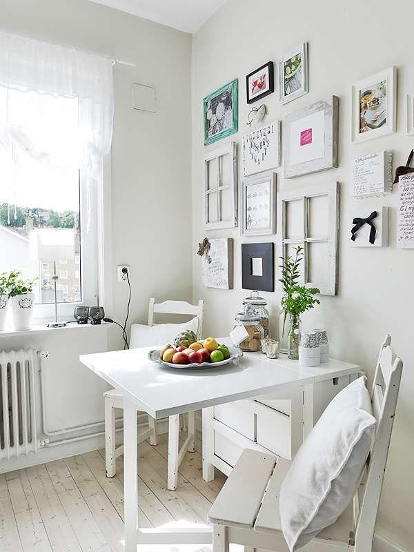 Las 25 mejores ideas sobre mesas de comedor plegables en for Deco living comedor pequeno