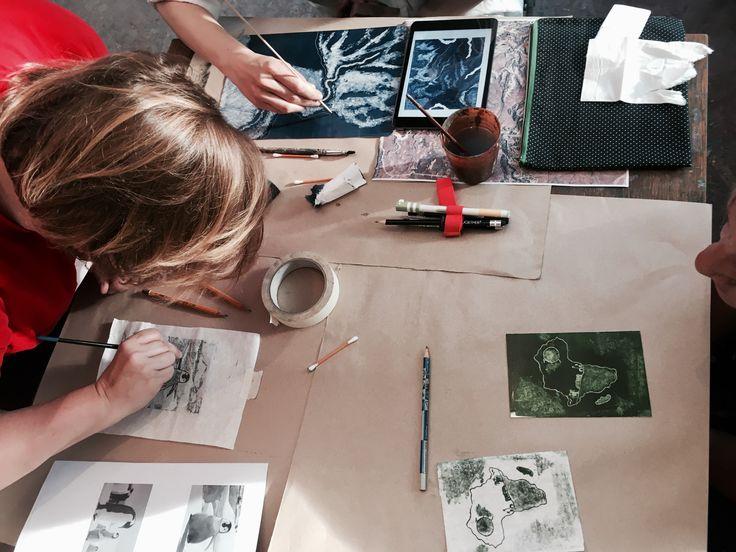 printmaking class