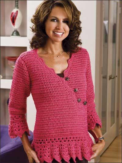 262 Best Crochet Cardigan Coats Images On Pinterest Crochet