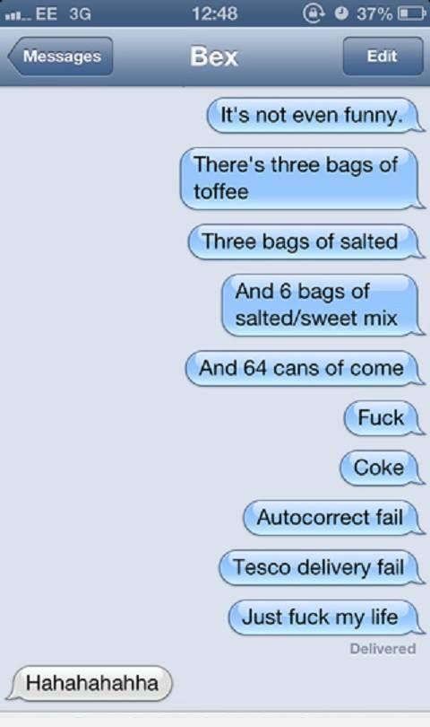 Fuck My Life Texts 110