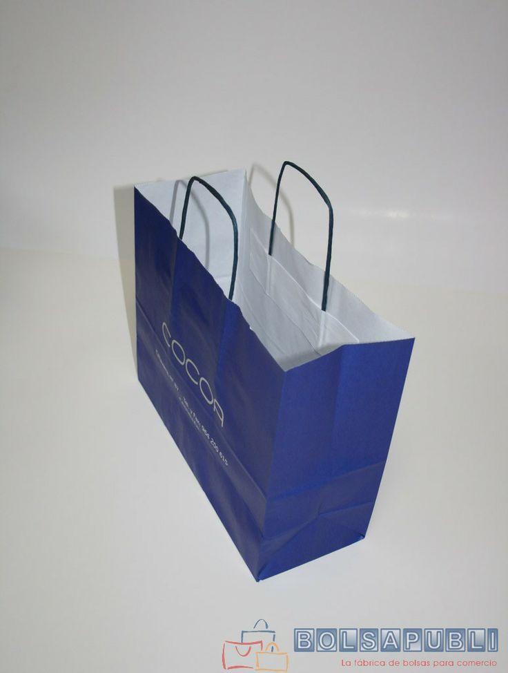 Bolsapubli - Bolsas klein en Madrid, disponibles en color azul y negro.