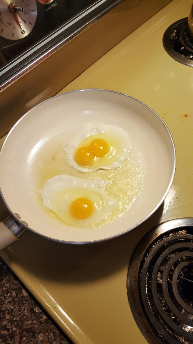 First double yolker