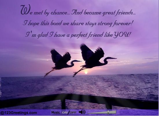 #Friendship is a special bond strengthen it with a special gesture of #Love & compassion. Strengthen it with this amazing #Ecard. www.123greetings.com