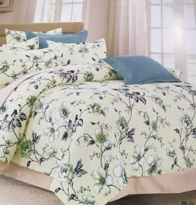 Kvalitné krémové posteľné obliečky s kvetmi