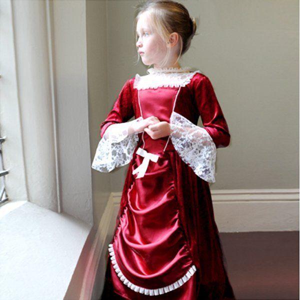 Fräulein Isabella Viktorianische Edwardian Lady Deluxe Mädchen Kostüm 3-11 Yrs