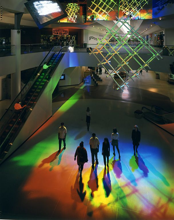 Peter Erskine - Solar Spectrum Environmental art