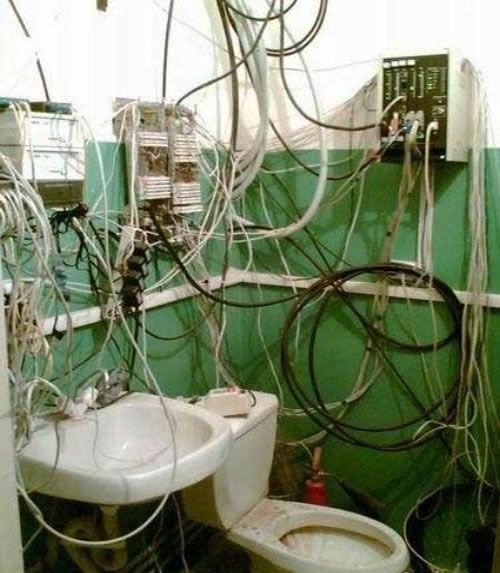 50 best wiring disasters images on pinterest. Black Bedroom Furniture Sets. Home Design Ideas