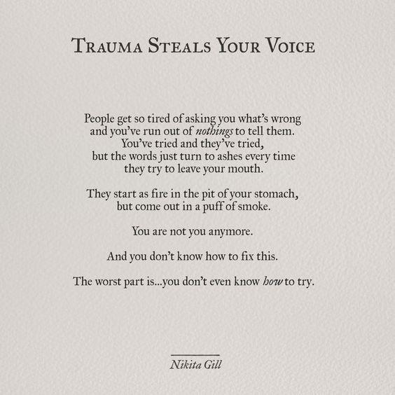 #PTSD #Quote Of The Day - 05/04/17 > Via: http://PTSDDating.com