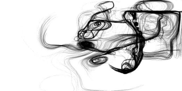 fluid dynamics solver. an excerpt. sound by syntfarm