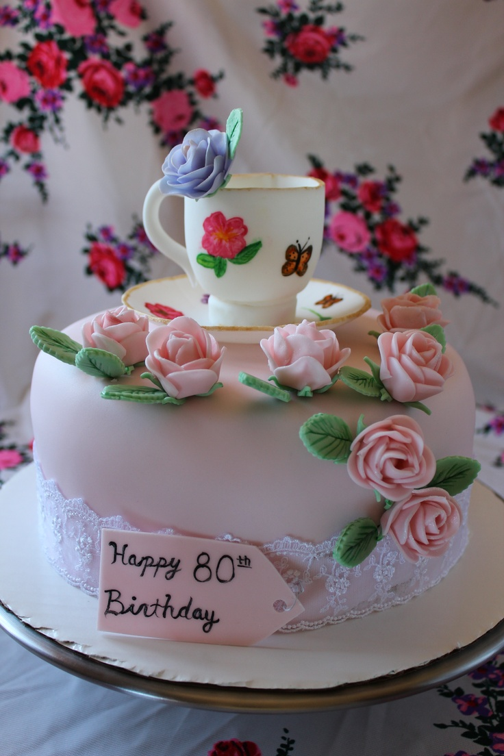 44 Best Images About 80th Birthday Cake Ideas For Grandma