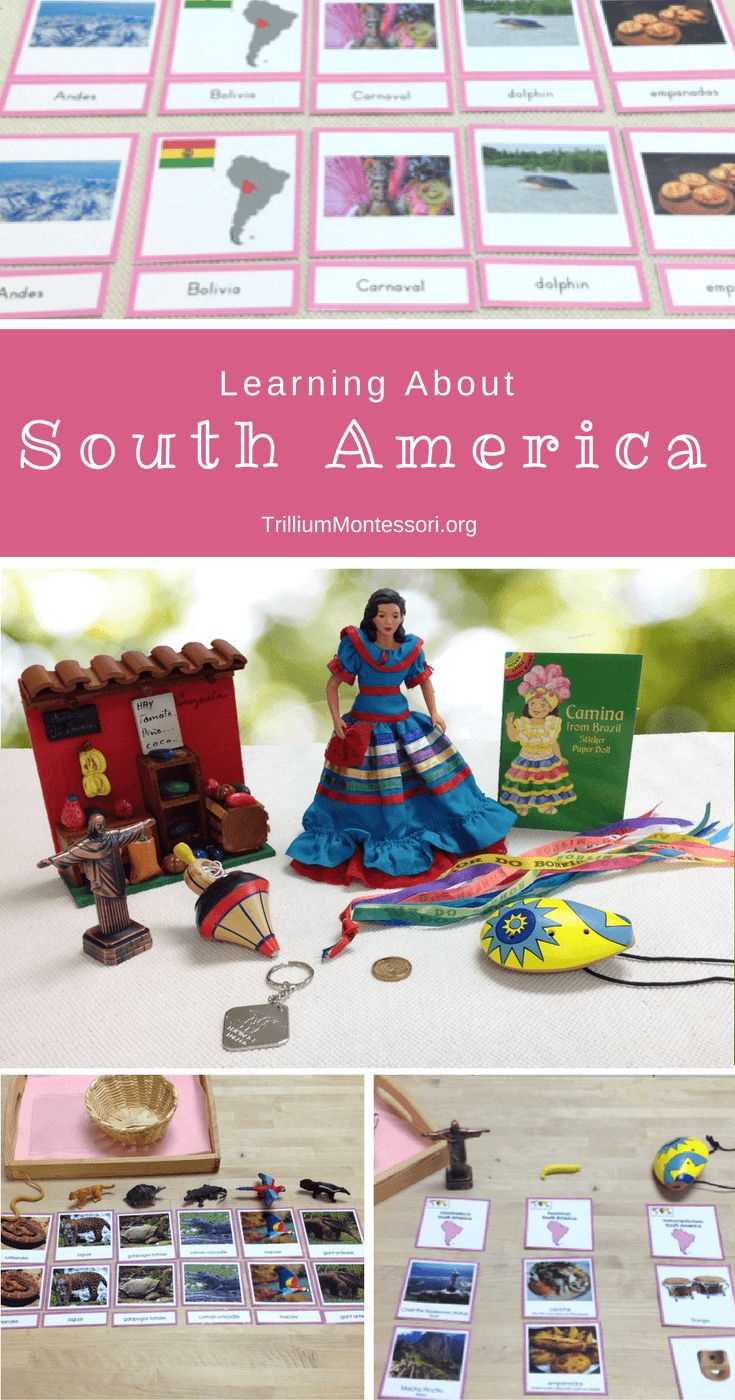 South and Central American Countries - Learning Level