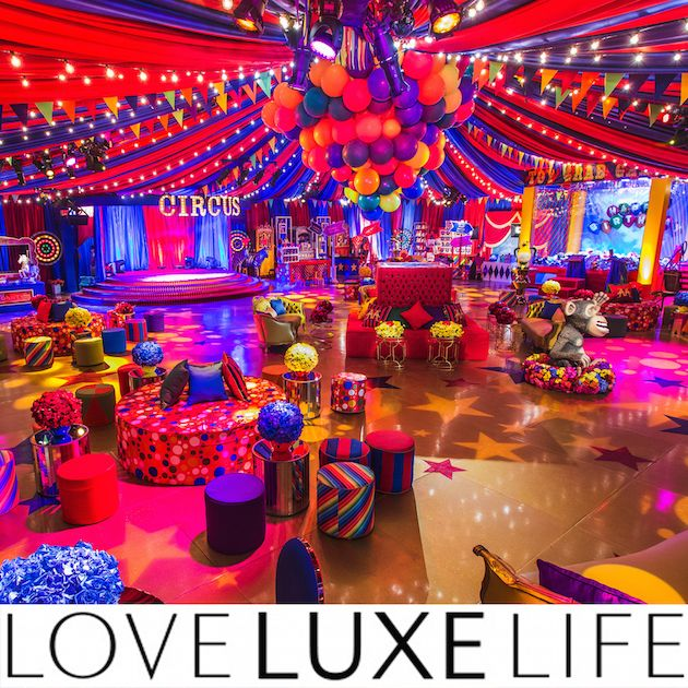 This vibrant and colorful circus birthday party was based on the film, Madagascar 3. We loved working with Sonia Sharma Events to create an unforgettable event. Featured in Love Luxe Life.