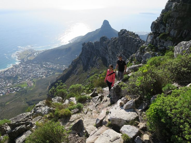 client hike - Table Mountain - South Africa - http://www.travelmoodz.com/en/travel-professional/riaan-vorster