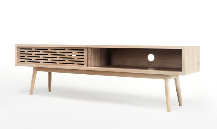 Radio Sideboard in solid oa is a stunning piece, don't you agree? #radio #sideboard #ideas #livingroom #storage #solioak
