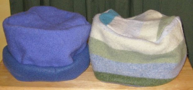 Sew Easy Hat From Old Sweater: 15 Steps (with Pictures)