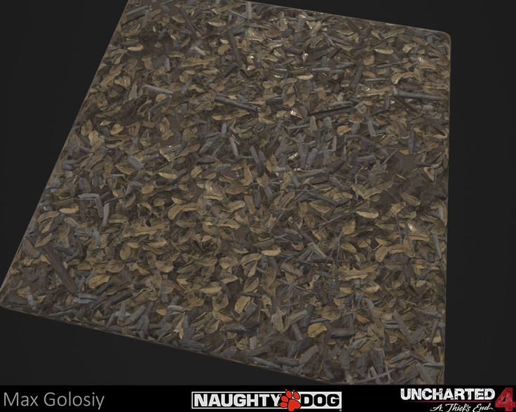 98% procedurally generated in Substance Designer leaves modeled in zbrush and imported as height maps