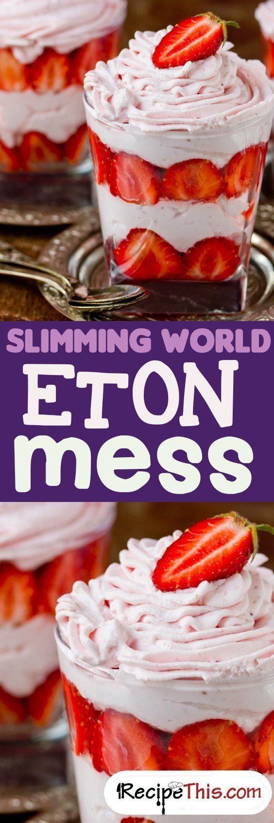 Slimming World Eton Mess