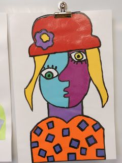 Brightest Crayon in the Box!!!: Picasso took over the Art room!!
