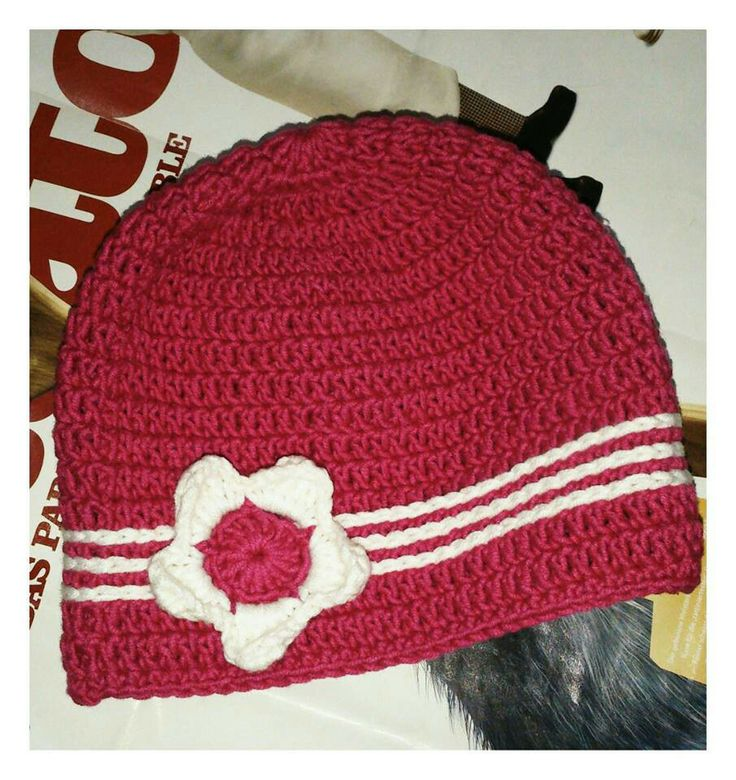 Baby Girl Hat. For 3-6 mths.