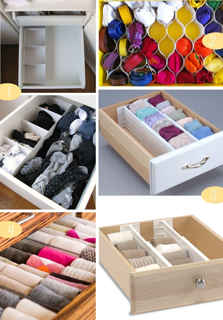 Sock Drawer Organizing Favorites