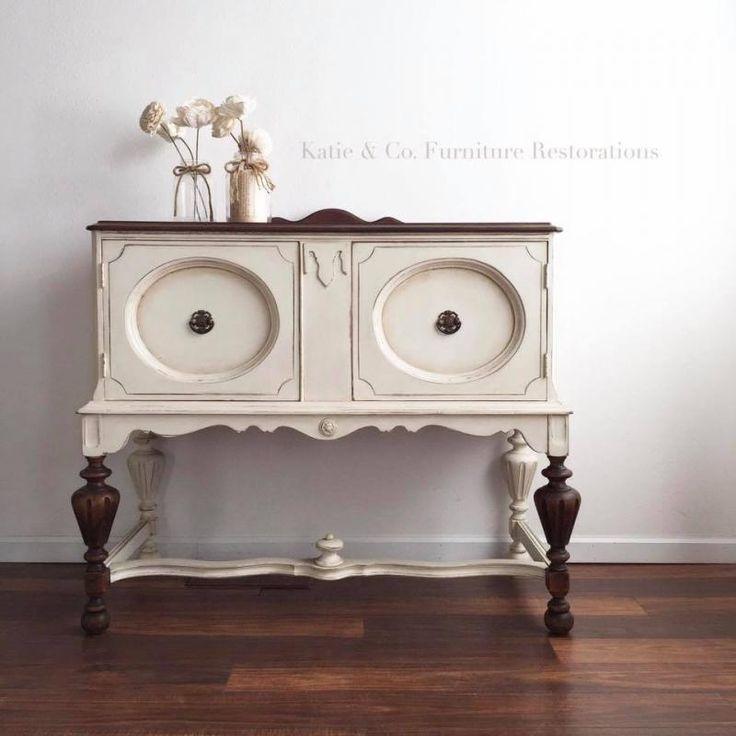 Original Style With Antique White U0026 Java. Refurbishing FurniturePaint ...