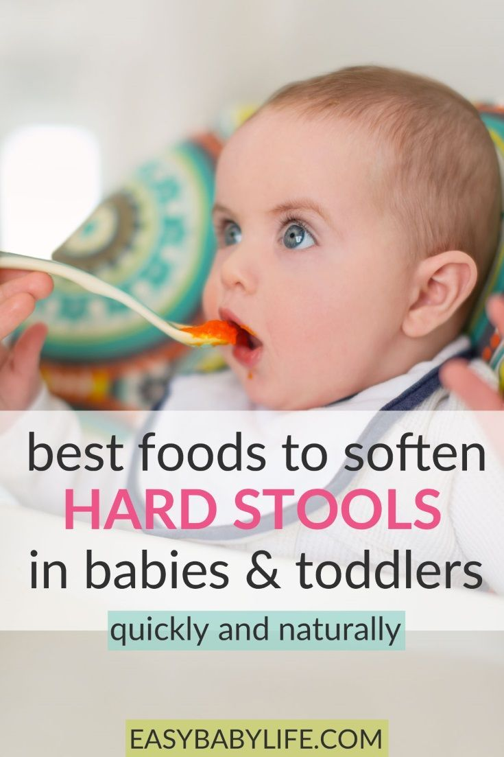 What Foods Soften Stool For Baby