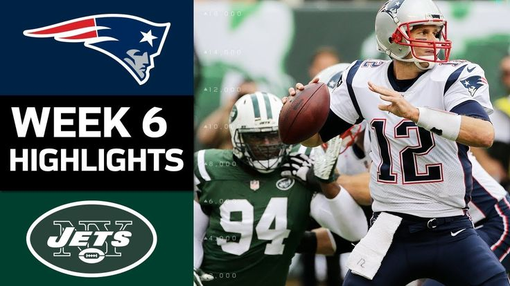 cool Patriots vs. Jets | NFL Week 6 Game Highlights