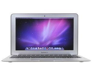 """Apple MacBook Air Core 2 Duo SU9400 Dual-Core 1.4GHz 2GB 128GB SSD GeForce 320M 11.6"""" Notebook OSX w/Cam (Late 2010)"""