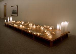 Nuevas arquitecturas, o una rara insistencia para entender la noche, 2000   Carlos Garaicoa