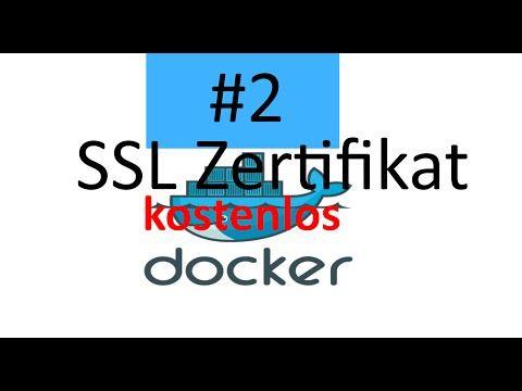 Kostenlose SSL Zertifikate letsencrypt mit Docker