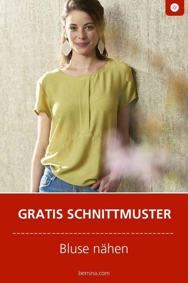 Bluse Schnittmuster Freebie