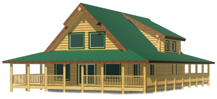 Lakewd log cabin kit prices