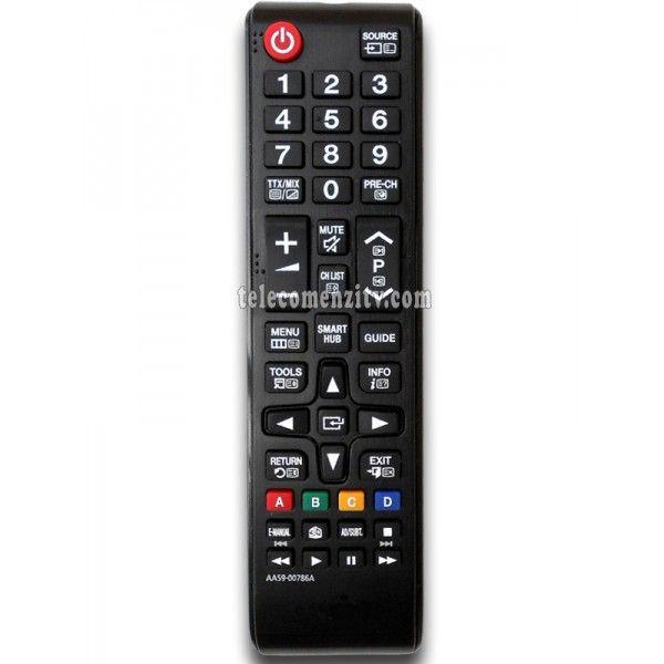 AA59-00786A (TM1240) este o telecomanda cu aspect original de cea mai buna calitate folosita pentru televizoarele LED/LCD si plasma marca Samsung. Nu are nevoie de coduri pentru a functiona,telecomanda AA59-00786A (TM1240) are nevoie doar de baterii pe care le puteti comanda impreuna cu telecomanda. Va recomandam sa folositi pentru telecomanda AA59-00786A baterii alcaline.