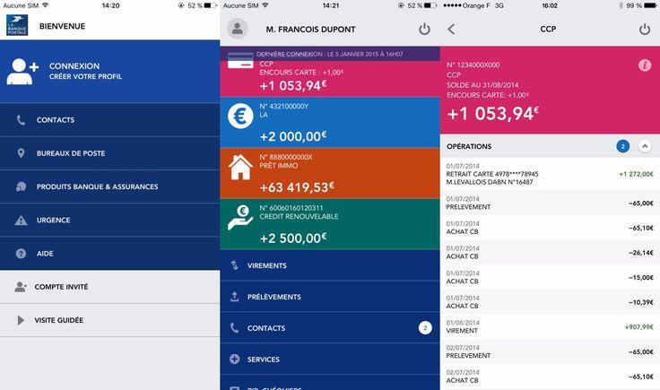 Lapplication La Banque Postale se met à jour pour supporter Touch ID