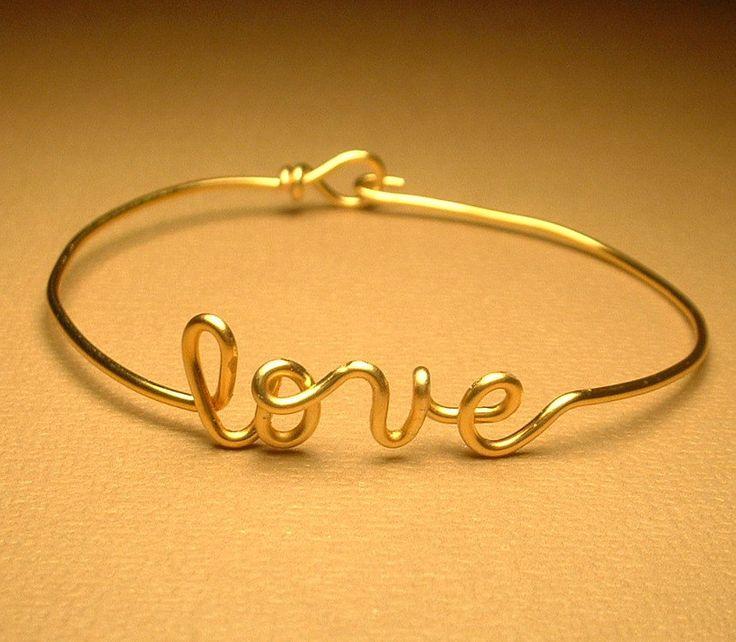 Love Bracelet. $17.00, via Etsy.