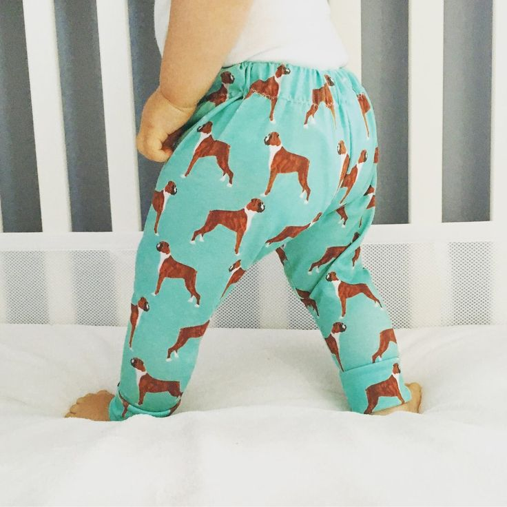 These adorable pants feature Boxers, a must have for any dog loving family…