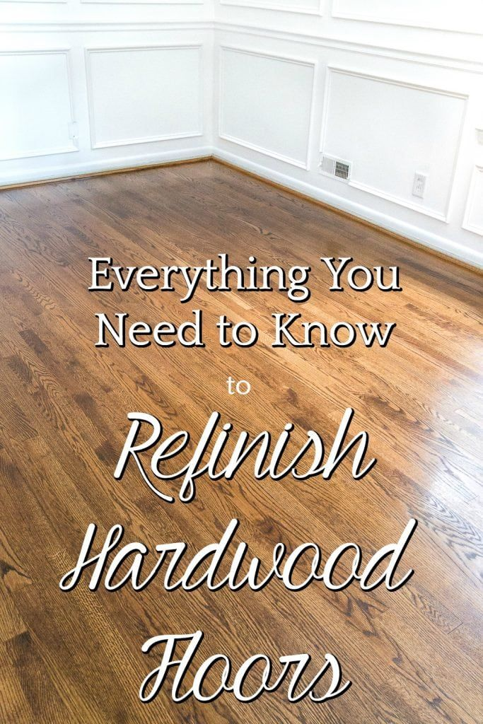 Everything You Need To Know To Refinish Hardwood Floors Bless Er House Refinishing Hardwood Floors Refinishing Floors Home Improvement Projects