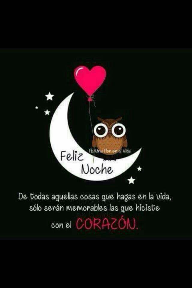 Buenas noches cariño. .. Que descanses...