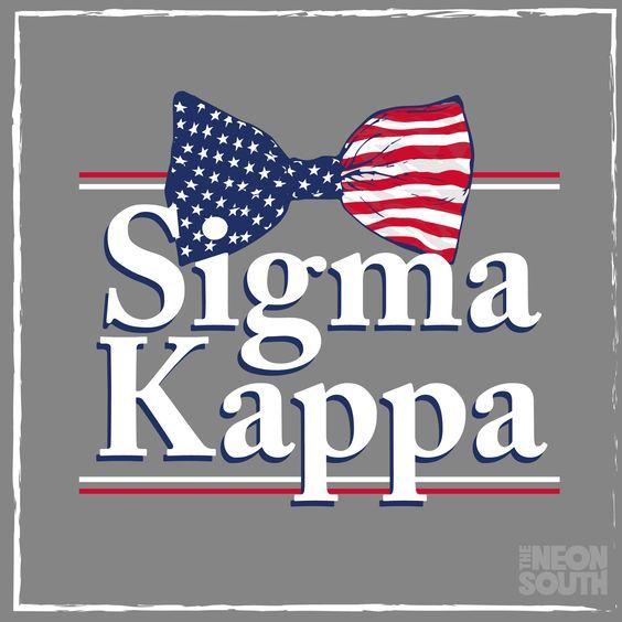 American Themed Pi Kappa Alpha Greek Letters