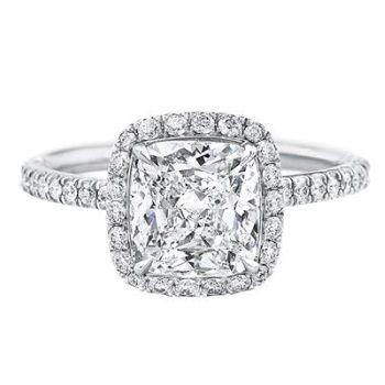 ハリー・ウィンストンの卓越したクラフトマンシップを実感できるリング *エンゲージリング 婚約指輪・ハリーウィンストン一覧*